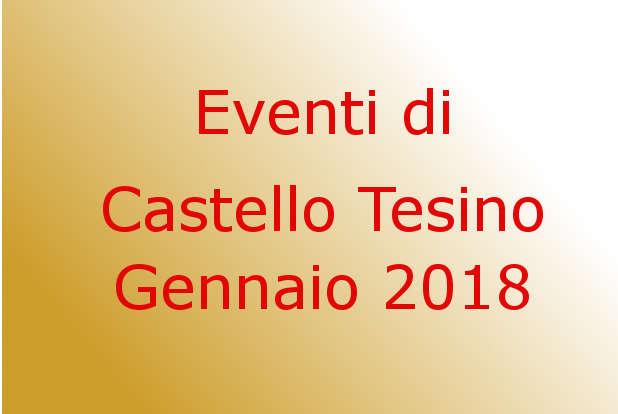 Gennaio 2018 a Castello Tesino