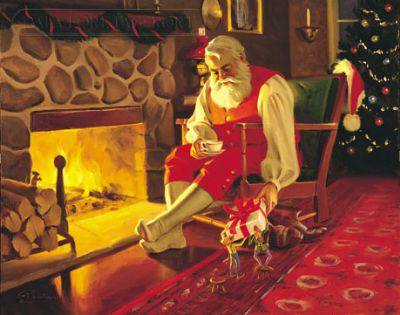 il 25 dicembre Babbo Natale a Pieve Tesino